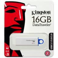 Pen Drive Kingston 16GB Usb Flash 3.1 / 3.0 / 2.0 G4 - Dtig4/16GB