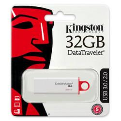 Pen Drive Kingston 32gb G4 Usb Flash 3.0/2.0