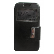 Flip Cover Janela Samsung Galaxy J1 / J100f / J1 4g Black