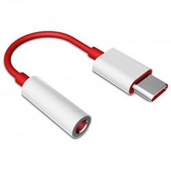 Usb-c To Headphone Jack Adapter Universal Jh-e+ Red