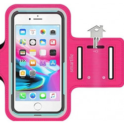 """New Science Sports Arm Band 5.5"""" Pink Waterproof Cell Phone Bag"""