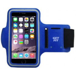 """New Science Sports Arm Band 5.5"""" Blue Waterproof Cell Phone Bag"""