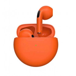 Earbuds Oem Pro B Orange With Charging Case
