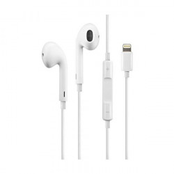 Auricular Oem Iphone 7/8/X/11/12 Branco