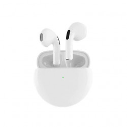Earbuds Oem Pro B Branco With Charging Case