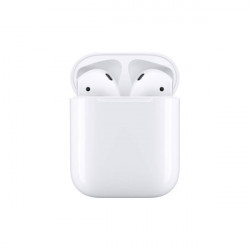 Auricular Wireless Apple Airpods 2 Branco Mv7n2zm/A Charging Case