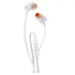 Earphones Jbl Tune 110 In Ear Micro 3.5mm White