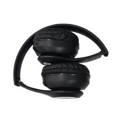 Headphones St36 Fm Radio, Support Tf Card Black