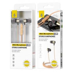 One Plus Headphones Nc3151 Gold 3.5mm Plug Type High Sound Quality