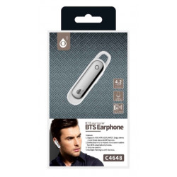 Bluetooth Wireless Mtk C4648 Multiple Pairing To 2 Bt Devices V4 70mah White