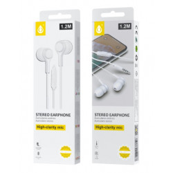 Auricular One Plus C5146 Branco 3.5mm Plug 1.2m Lenght