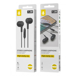 Auricular One Plus C5146 Preto 3.5mm Plug 1.2m Lenght