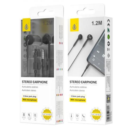 Auricular One Plus Nc3166 Preto 1.2m 3.5mm Plug