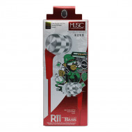 Headset R11 Extra Bass 3.5mm Plug Red