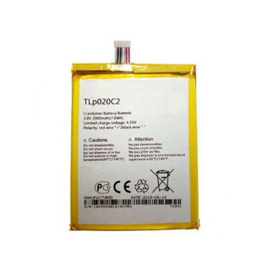 Battery TLp020C2 Alcatel Idol 2 OT 6037 OT6037 6040 6034 6035