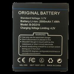 Battery Doogee Dg310 (S/n:h031dg3100550) 2000mah