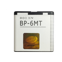 Bateria Nokia Bp-6mt Bulk Li-In, 3.7v, 1050mah Compativel Com 6720c, E51, N81, N81 8gb, N82