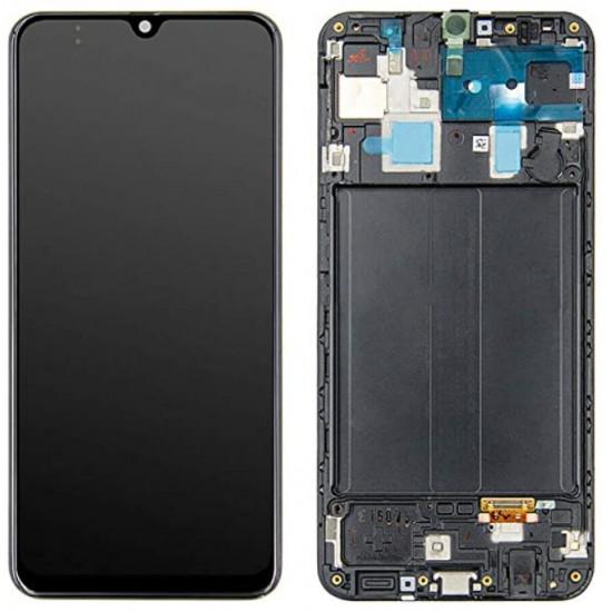 Touch+Display Com Frame Samsung Galaxy A32 5g 2021 A326b Preto Com Battery
