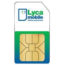 Lyca Sim Card With € 5 Balance