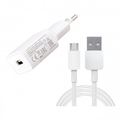 Charger 240v Xiaomi Power Adapter+data Line White 1m