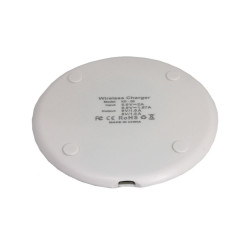 Carregador Wireless Oem Kd-20 Ultra-thin Wireless Charging Pad White