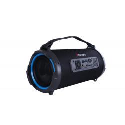 Bluetooth Speaker K1202 Preto 12.3w Fm/Audio/Usb