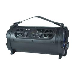 Speaker Mtk Ft999 Preto Led Display, 20w,Fm,Tf,Audio,Microfone