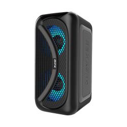 Coluna Bluetooth Mtk Tf4161 Preto Wireless, Led, Tf Card, Usb Support, Fm Radio, Tws Box