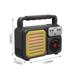 Bluetooth Speaker One Plus Nf4071 Yellow 1000mah Bettery, U Disk, Usb Support, Tf Card, Fm Radio