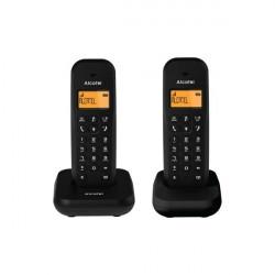 Telefone S/Fios Alcatel E155 Duo Black