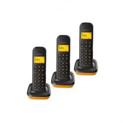 Alcatel D135 Triple Orange Wireless Landline Phone