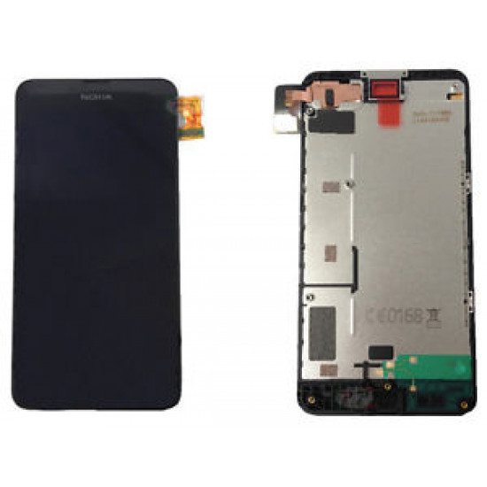 Touch+Lcd With Frame Microsoft Nokia Lumia 630 635 Black