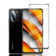 Screen Glass Protector 5d Xiaomi Poco F3 Black