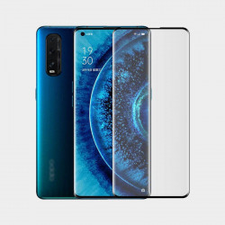 Screen Curved Glass Protector 5d Oppo Find X2 Black