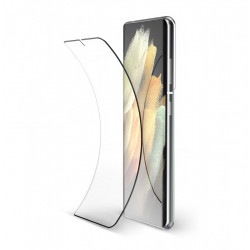 Screen Glass Protector 5d Complete Samsung Galaxy S21 Plus Black With Fingerprint