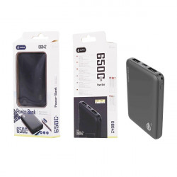 Power Bank One Plus D6042 Black 6500 Mah