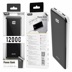 Power Bank Mtk Td2124 12000mah White