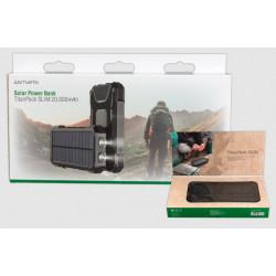 Power Bank 4smarts 20000mah Solar Power Bank Rugged Titanpack Slim Black