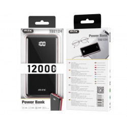 Power Bank Mtk Td2124 12000mah Red