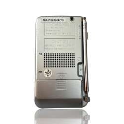 Radio Fm/am Oem Cpr121 Silver Uses Of Battery
