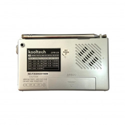 Radio Fm/am Oem Cpr126 Silver Uses Of Battery