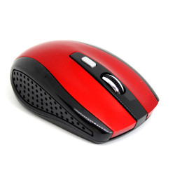 Wireless Oem Office Mouse 10m 1600dpi Red