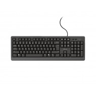 Keyboard Usb Trust Primo Spill Resistant Black