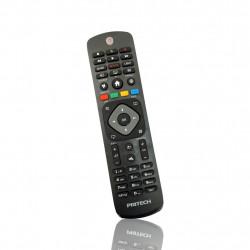 Remote Control Pritech Pbp-257 Black For TV