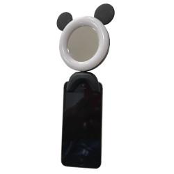 Ring Light Oem Q18 Rosa Com Espelho