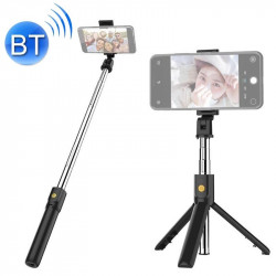 Selfie Stick New Science K07 Preto Adjustable, Tripod