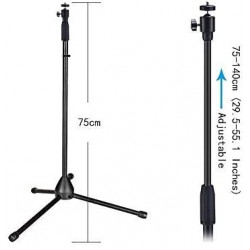 Tripod Stand Oem Professional Tripod Stand For All Smartphones Black