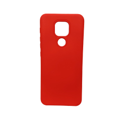 Silicone Cover Case 1.5 Mm Motorola G9 Play / E7 Plus Red