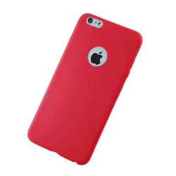 Silicone Apple Cover Apple Iphone 7/8/se Mat Red