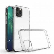 Apple Iphone 12 / 12 Pro Silicone Case Flexible Corner Color Transparent